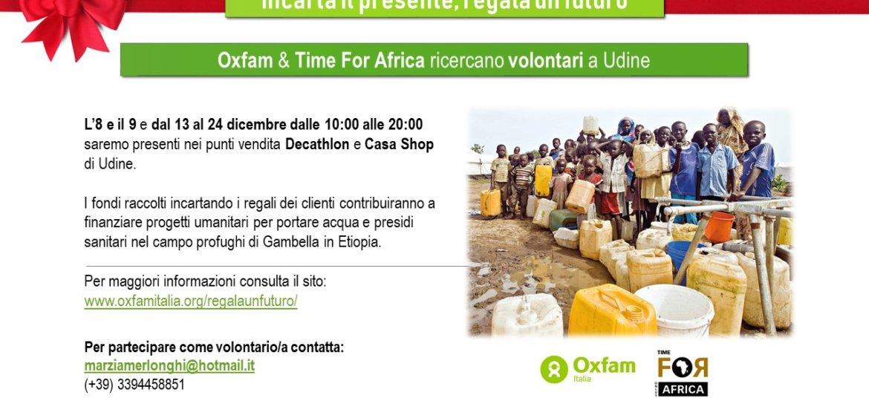OXFAM & TFA locandina